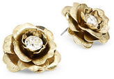 Gerard Yosca Flower Button Stud Earrings