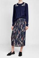 Markus Lupfer Embellished Wool Pullover