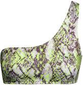 H&M Bikini Top - Snakeskin patterned - Ladies