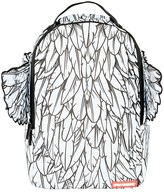 Sprayground Boys' Feather Print Winged Backpack