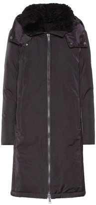 Yves Salomon Army shearling-trimmed down parka