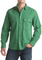 Woolrich Expedition Chamois Shirt - Modern Fit, Long Sleeve (For Men)