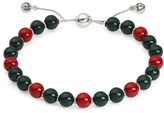 Gucci Boule Britt Bracelet w/ Red and Green Wooden Beads Bracelet