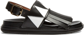 Marni Fusbett fringed sandals