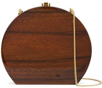 Rocio rounded shape clutch bag