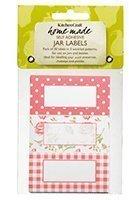 Kitchen Craft Self Adhesive Jam Jar Labels, Pack of 30, Roses