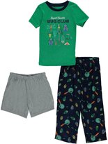 "Carter's Little Boys' Toddler ""Expert Crawler"" 3-Piece Pajamas"