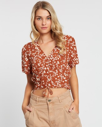 Cotton On The Ultimate Ruched Front Tea Blouse