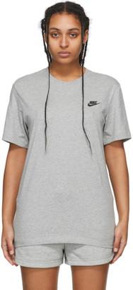 Nike Grey NSW Club T-Shirt