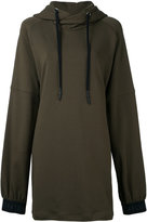 Strateas Carlucci - oversized hoodie - women - Cotton - M