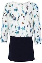Paul Smith Cream Feather Print Dress