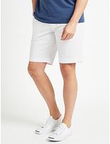 John Lewis Smarter Chino Shorts, White