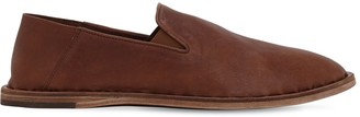 Officine Creative Washed Leather Loafers