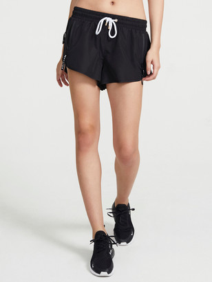 P.E Nation Double Drive Shorts in Black