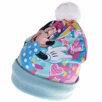 Disney Girl's Minnie Mouse Oh My Beanie Set Hat