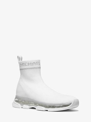 Michael Kors Kendra Stretch-Knit Sock Sneaker