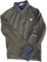 Moncler Khaki Cotton Polo shirt