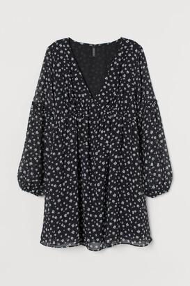 H&M A-line Dress - Black