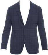 Lardini Blue Cotton Jacket