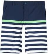 Polo Ralph Lauren Boys Solid Stripe Beach Swim Shorts