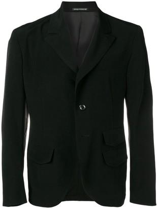 Yohji Yamamoto Crepe Blazer