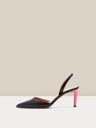 Diane von Furstenberg Athena Leather Slingback Pumps