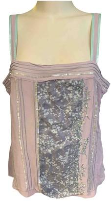 Coast Purple Silk Top for Women