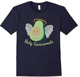 Men's Holy Guacamole! Funny Halo Angel Avocado T-Shirt Medium