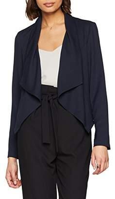 Vero Moda Women's's Vmsandie Blazer Suit Jacket, Blue Black), UK/38 EU