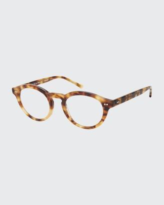 Colors In Optics Round Blue Light Reading Glasses