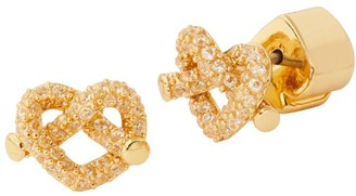 Kate Spade Loves Me Knot Pave Mini Stud Earrings