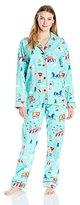 PJ Salvage Women's Fantastic Flannels
