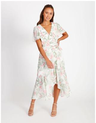 Tokito Ruffle Wrap Maxi Dress