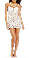 Cinema Etoile Lordes Floral Crochet Lace Strappy Babydoll