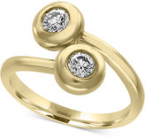 Effy D'Oro by Diamond Bypass Ring (1/2 ct. t.w.) in 14k Gold