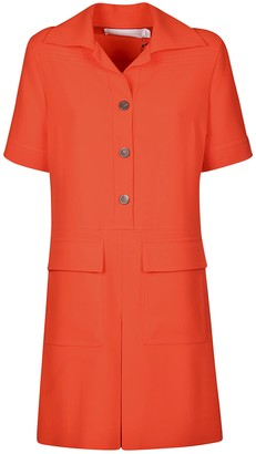 Victoria Beckham Fluid Crepe Dress