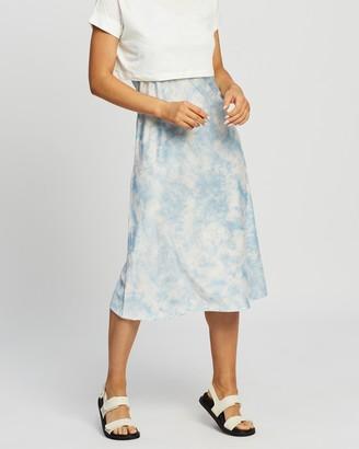 AllSaints Imo Tie-Dye Dress