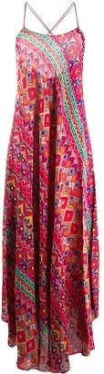 Etro Geometric Maxi Dress