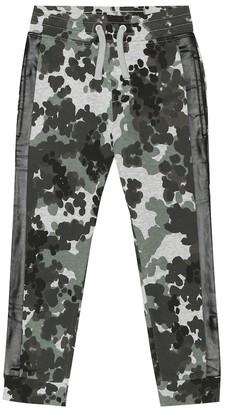Stella McCartney Camo cotton-jersey trackpants
