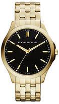 Armani Exchange Mens Goldtone Bracelet Watch