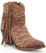 Lucchese Robyn Printed Block-Heel Booties