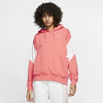 Nike Womens French Terry Pullover Hoodie Sportswear