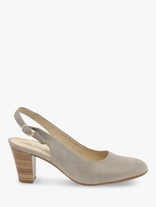 Gabor Emelda Wide Fit Leather Court Shoes