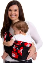 Balboa Baby Dr. Sears Original Adjustable Baby Sling in Black with Red Poppy Trim