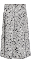 Nina Ricci Cotton Tweed Panelled Skirt