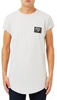 Topman Men's Nyc 98 Graphic Longline Crewneck T-Shirt