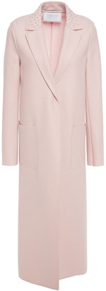 Harris Wharf London Studded Wool-felt Coat