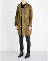 Saint Laurent Sweet Dreams Cotton-blend Parka Jacket