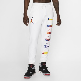 Jordan Sport DNA HBR Pants - White - Fleece