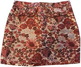 Paul & Joe Red Skirt for Women